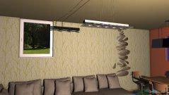 Raumgestaltung kuchyna a obyvacka- dom 1 in der Kategorie Wohnzimmer