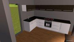 Raumgestaltung Küche 1 in der Kategorie Wohnzimmer