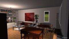 Raumgestaltung küche und wohnzimmer kanal straße 18 in der Kategorie Wohnzimmer