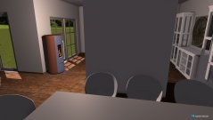 Raumgestaltung KÜCHE;WOHNZIMMER;ESSZIMMER in der Kategorie Wohnzimmer