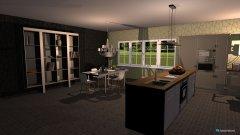Raumgestaltung Küche+Wohnzimmer in der Kategorie Wohnzimmer