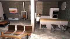 Raumgestaltung Küche_Wohnzimmer_2 in der Kategorie Wohnzimmer