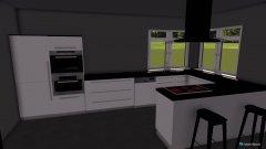 Raumgestaltung KücheEsszimmerWohnzimmer in der Kategorie Wohnzimmer