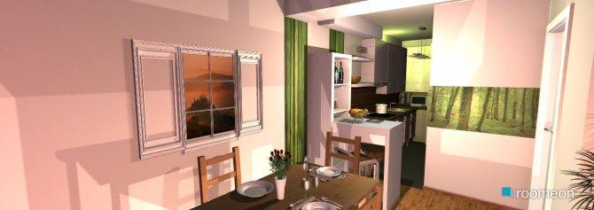 Raumgestaltung küchen-wohnzimer 01.1234 in der Kategorie Wohnzimmer