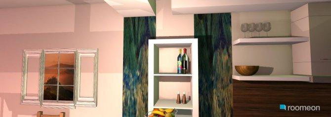 Raumgestaltung küchen-wohnzimer 01.123 in der Kategorie Wohnzimmer
