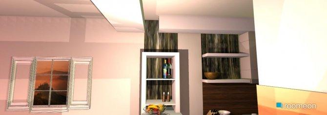 Raumgestaltung küchen-wohnzimer 01.12 in der Kategorie Wohnzimmer