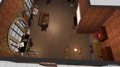 Raumgestaltung Kunststudenten Loft in der Kategorie Wohnzimmer