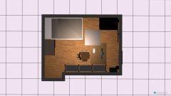 Raumgestaltung lars neues haus in der Kategorie Wohnzimmer