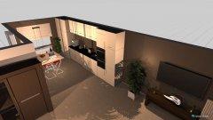 Raumgestaltung Leefruimte in der Kategorie Wohnzimmer