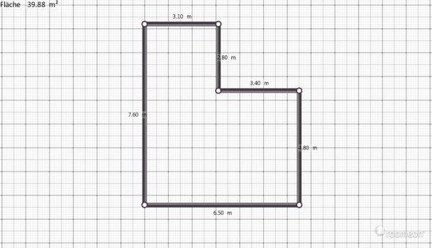 Raumgestaltung Lform in der Kategorie Wohnzimmer
