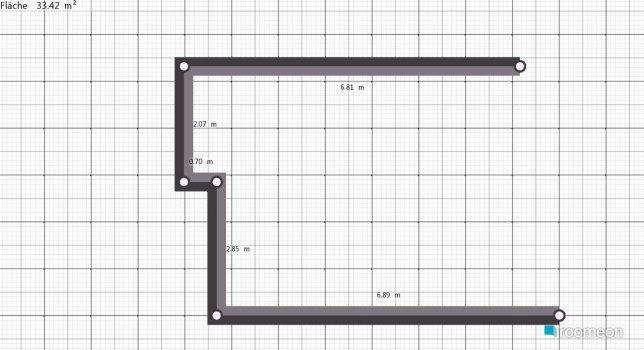 Raumgestaltung Lisi1 in der Kategorie Wohnzimmer