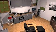 Raumgestaltung Little home in der Kategorie Wohnzimmer