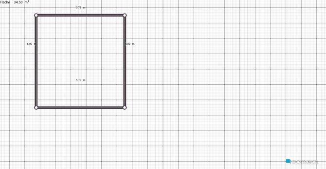 Raumgestaltung little Wohnzimmer in der Kategorie Wohnzimmer