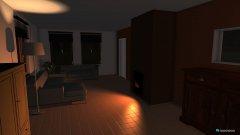 Raumgestaltung liviing in der Kategorie Wohnzimmer