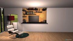 Raumgestaltung livin room in der Kategorie Wohnzimmer