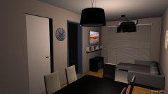 Raumgestaltung living comedor 2 in der Kategorie Wohnzimmer
