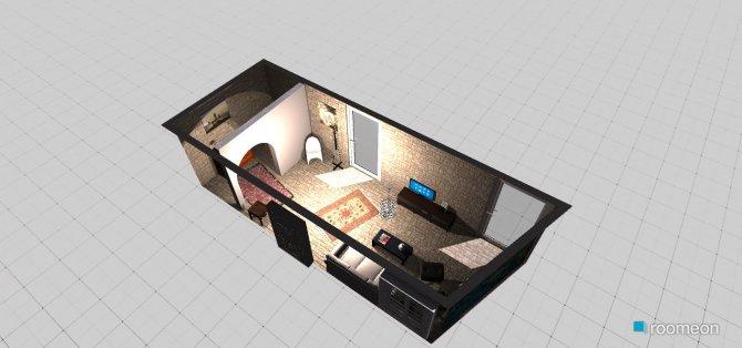 Raumgestaltung Living + Entry in der Kategorie Wohnzimmer