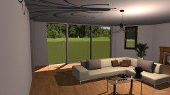 Raumgestaltung Living room-B in der Kategorie Wohnzimmer
