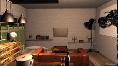 Raumgestaltung Living room + Hobby in der Kategorie Wohnzimmer