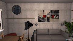 Raumgestaltung Living room Industrial in der Kategorie Wohnzimmer