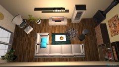 Raumgestaltung living room Peta in der Kategorie Wohnzimmer