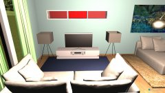 Raumgestaltung living room v2 in der Kategorie Wohnzimmer