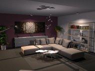 Raumgestaltung Living Spaces Showroom in der Kategorie Wohnzimmer