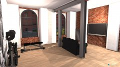 Raumgestaltung Loft 325 v1 in der Kategorie Wohnzimmer