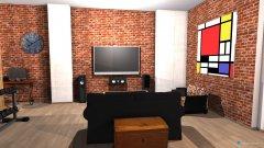 Raumgestaltung Loft 325 v4 in der Kategorie Wohnzimmer