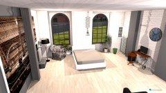 Raumgestaltung Loft 325 v5 white+grey MINIMALISM in der Kategorie Wohnzimmer