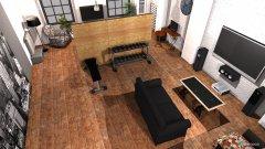 Raumgestaltung Loft 325 v5 white+grey in der Kategorie Wohnzimmer