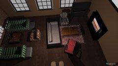 Raumgestaltung Loft Apartment in der Kategorie Wohnzimmer