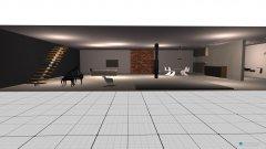 Raumgestaltung Loft Meisterwerk in der Kategorie Wohnzimmer