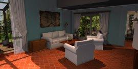 Raumgestaltung Luberon Wohnzimmer in der Kategorie Wohnzimmer