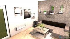 Raumgestaltung luca und emi wohnung in der Kategorie Wohnzimmer