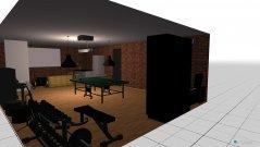 Raumgestaltung Man Cave in der Kategorie Wohnzimmer