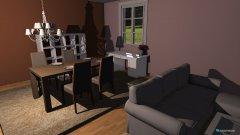Raumgestaltung Manola - Wohnzimmer in der Kategorie Wohnzimmer