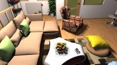 Raumgestaltung Mansarda 1 reversed in der Kategorie Wohnzimmer