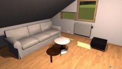 Raumgestaltung Mansarda 4 in der Kategorie Wohnzimmer