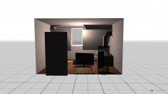 Raumgestaltung Mansarde Wohnzimmer in der Kategorie Wohnzimmer