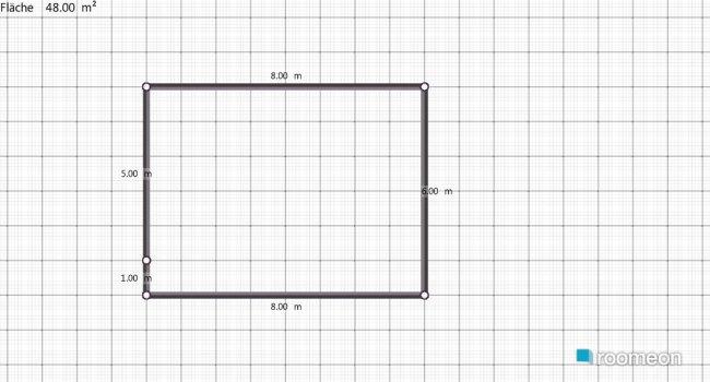 Raumgestaltung manuels wohnzimmer in der Kategorie Wohnzimmer