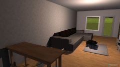 Raumgestaltung MarenisWohnzimmer in der Kategorie Wohnzimmer