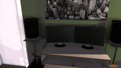 Raumgestaltung Mario WG Zimmer in der Kategorie Wohnzimmer