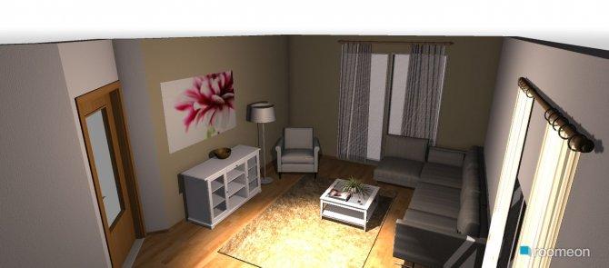 Raumgestaltung Masur Wohnzimmer in der Kategorie Wohnzimmer