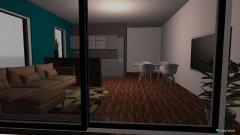 Raumgestaltung mauer in der Kategorie Wohnzimmer