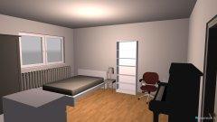 Raumgestaltung Mauerstraße 112 in der Kategorie Wohnzimmer
