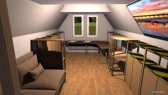 Raumgestaltung Mehrzweckzimmer in der Kategorie Wohnzimmer