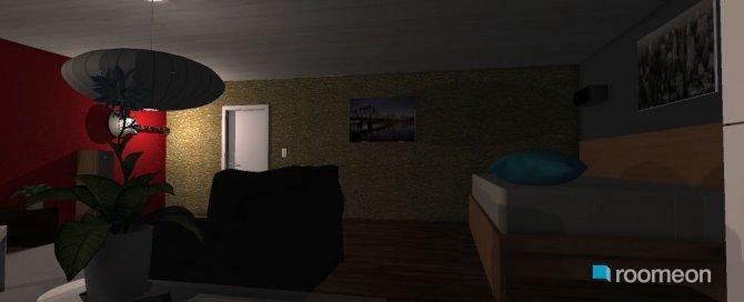 Raumgestaltung mein neues zimmer in der Kategorie Wohnzimmer