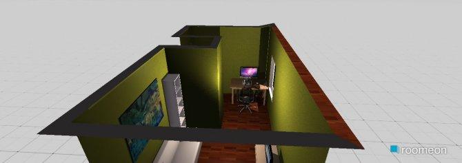 Raumgestaltung mein zimmer in der Kategorie Wohnzimmer