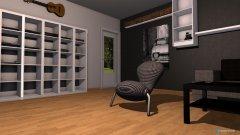 Raumgestaltung meine bude beta in der Kategorie Wohnzimmer
